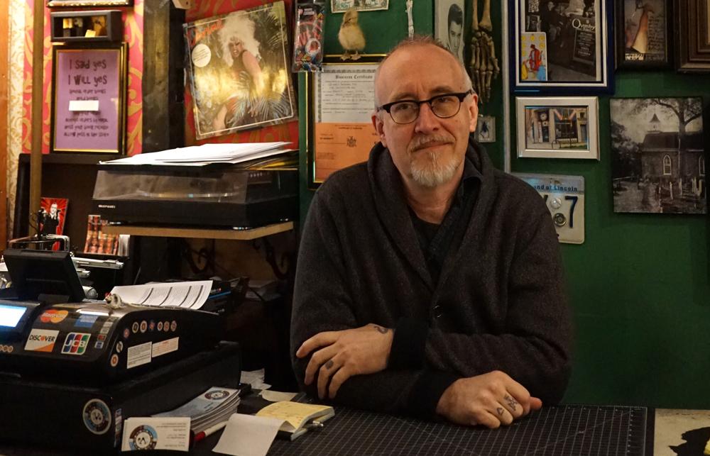 Steve Svymbersky - Quimby's NYC