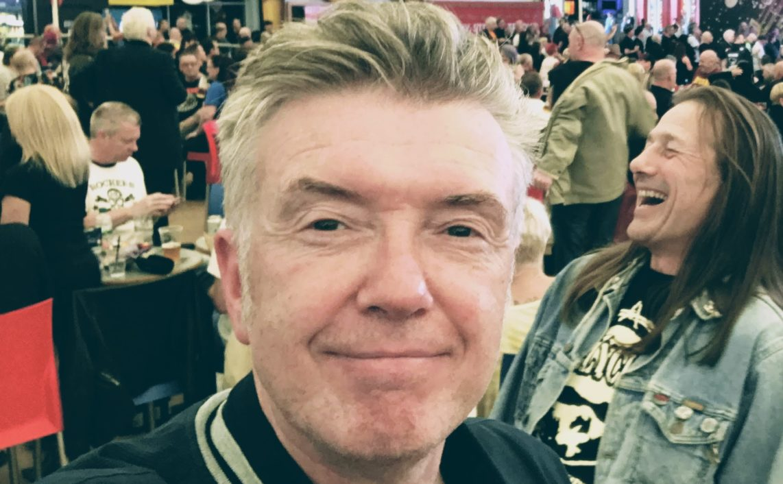 Michael Bradley of The Undertones